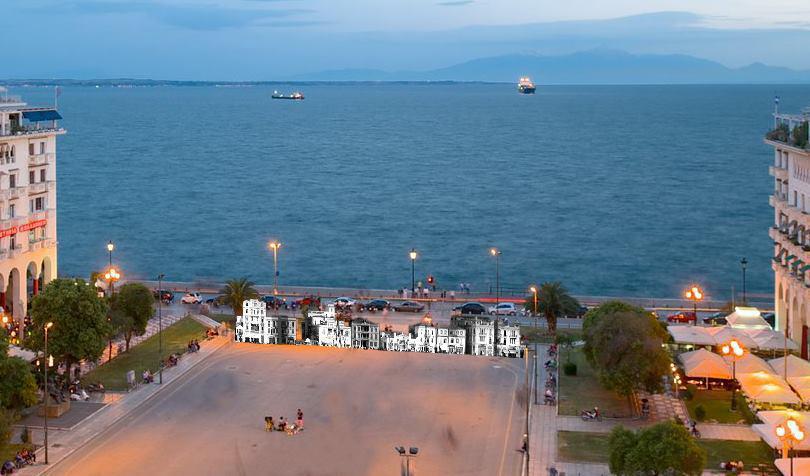 Image result for Η πλατεία Αριστοτέλους από την θάλασσα