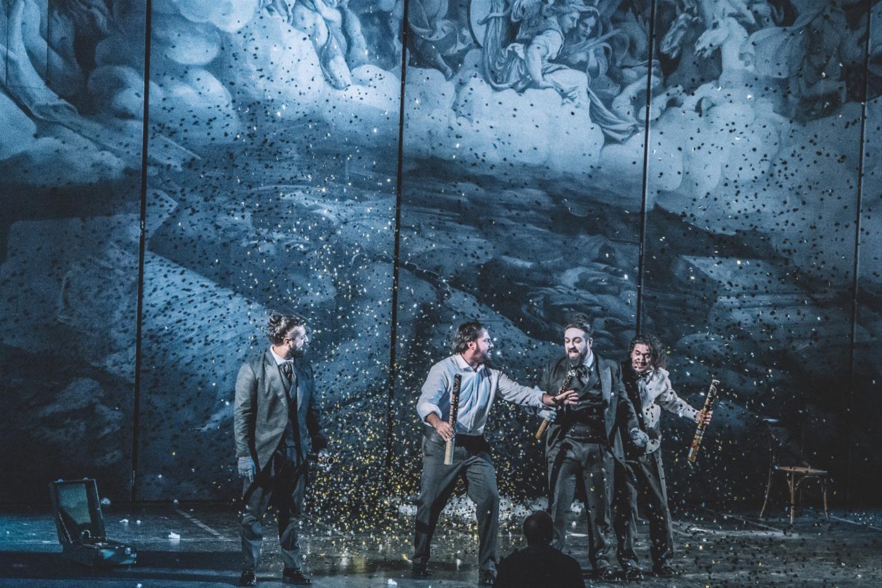 b1c6eef44e7 Η νέα παραγωγή του Κρατικού Θεάτρου Βορείου Ελλάδος, «Χειμωνιάτικο  Παραμύθι» του Ουίλλιαμ Σαίξπηρ, σε μετάφραση Νίκου Χατζόπουλου,  παρουσιάζεται μέσα από τη ...