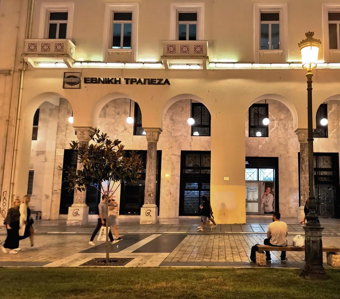 Θεσσαλονίκη: Αναβαθμίστηκε ο φωτισμός στις στοές της Αριστοτέλους  , φωτογραφία-1