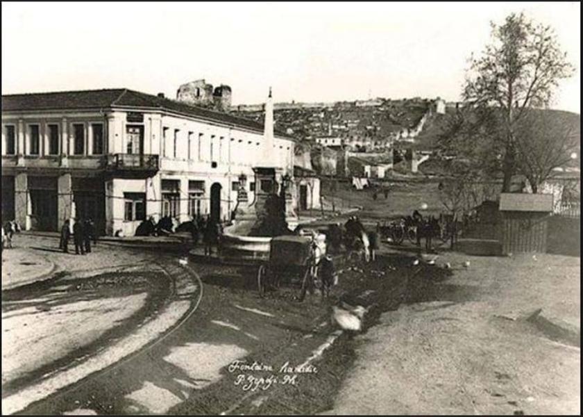 συντριβάνι 1888 litsa garifalia
